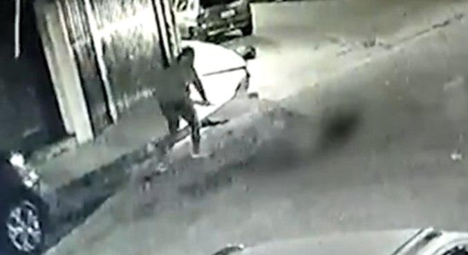 Após o crime, suspeito fugiu de carro
