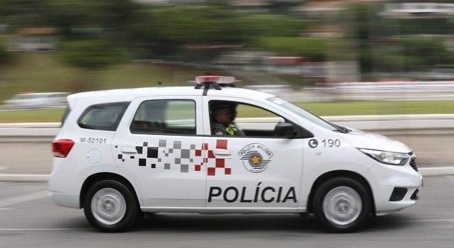 Equipe realizava uma patrulha quando notaram um veículo em alta velocidade