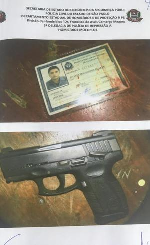 Identidade da PM e arma foram enviadas em grupo de traficantes