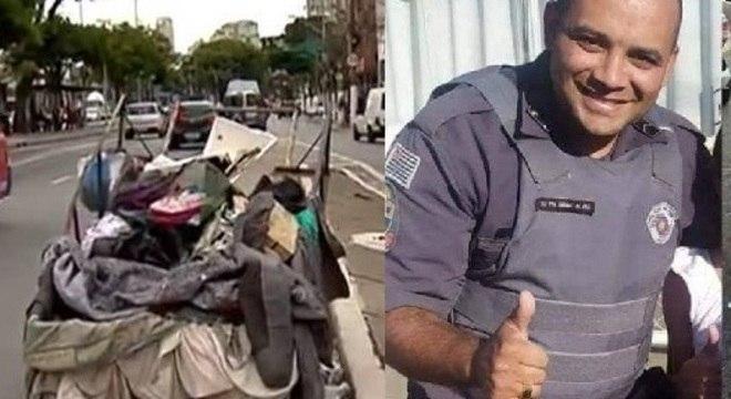 Corpo do policial foi encontrado escondido em uma carroça carregada por quatro homens