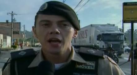 Suspeito segue preso em um batalhão da PM