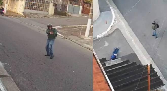Tentativa de assalto ocorreu no início da manhã desde domingo (22)
