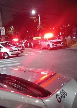 PM foi ferido em assalto