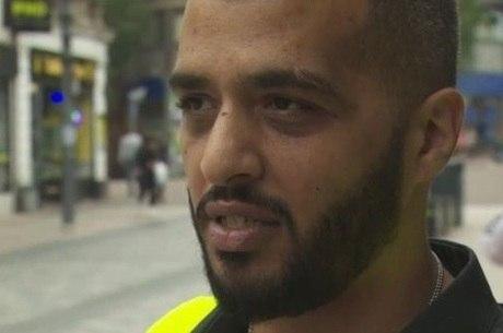 O segurança Ari diz que a droga está dificultando a vida das empresas no centro da cidade