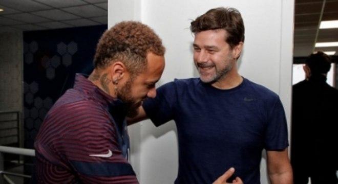Pochettino e Neymar