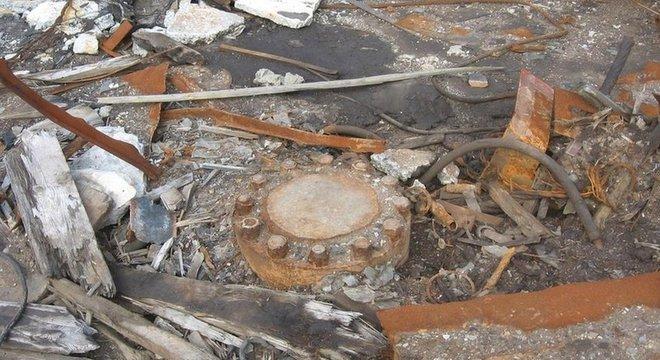 Poço ainda existe, mas foi lacrado