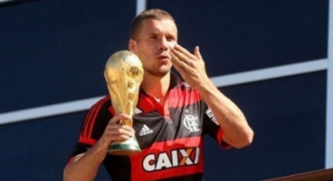 Podolski - Flamengo