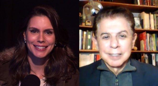 Camila Busnello conversa com Heródoto Barbeiro