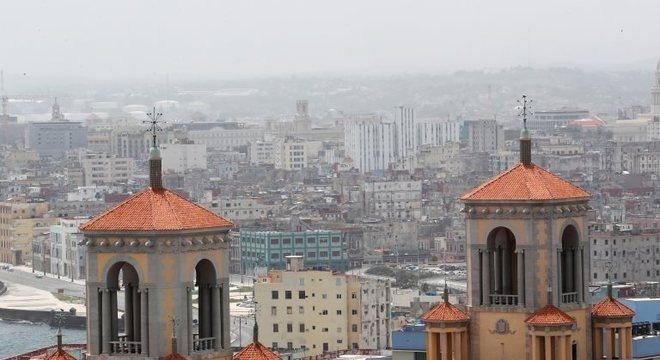Havana, em Cuba, registrou a presença de poeira do Saara em 24 de junho