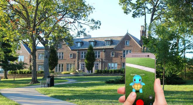 Pokémon Go é um exemplo do uso de realidade aumentada em jogos