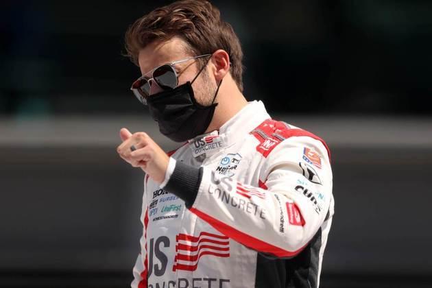 Pole, Marco Andretti fechou apenas em 13º