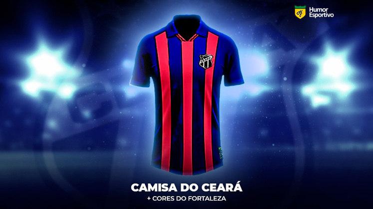 Polêmica no uniforme: a camisa do Ceará com cores do Fortaleza