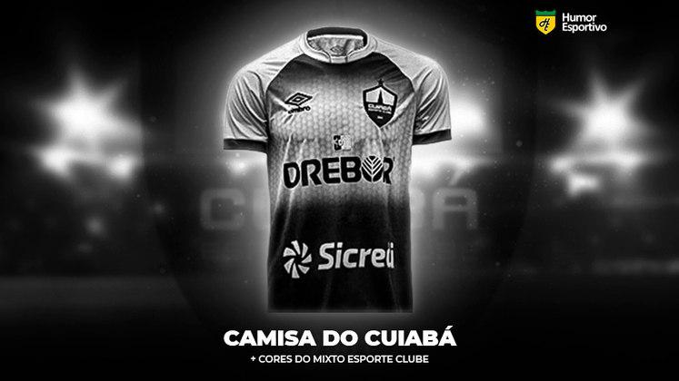 Polêmica no uniforme: a camisa do Cuiabá com as cores do Mixto