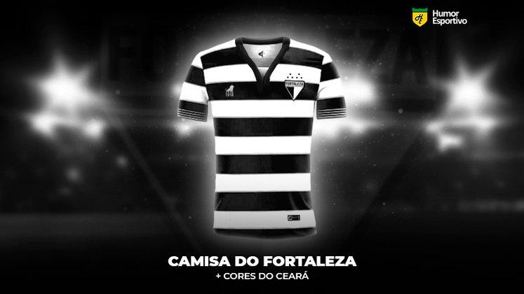 Polêmica no uniforme: a camisa do Fortaleza com as cores do Ceará