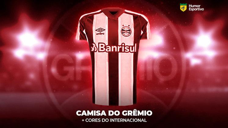 Polêmica no uniforme: a camisa do Grêmio com traços do Internacional