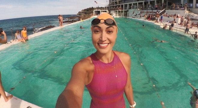 Poliana Okimoto deixou competições para organizar provas em águas abertas