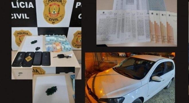 Polícia apreendeu joias, dinheiro e carros que eram dados como parte do pagamento