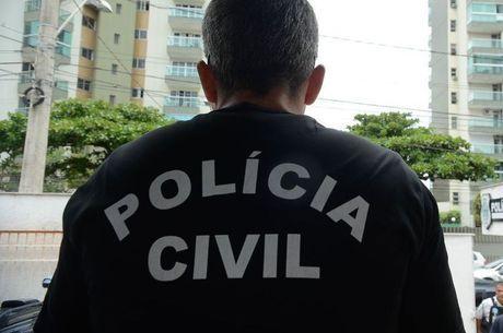 Polícia realizou uma perícia no local