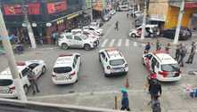 Assalto a carro-forte termina com tiroteio e policial baleado em SP