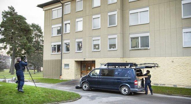 Polícia fez buscas no apartamento