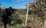 O cerco policial para capturá-lo já dura nove dias e as buscas se concentram na região onde ele foi visto pela última vez, na região de Cocalzinho de Goiás (GO)