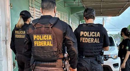 Operação da PF  cumpriu 2 mandados de prisão