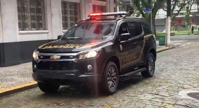 PF cumpre mandados em operação contra o tráfico internacional de drogas