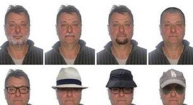 Polícia Federal havia divulgado retratos com possíveis disfarces quando extradição foi decidida por Temer