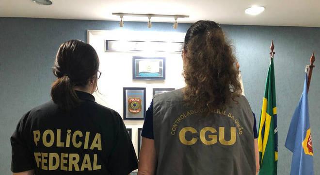 Polícia Federal e CGU fazem operação contra fraudes em licitações