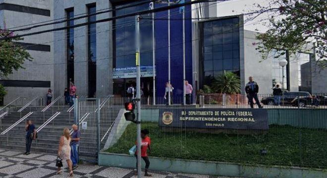 Sede da Polícia Federal na Lapa, em São Paulo
