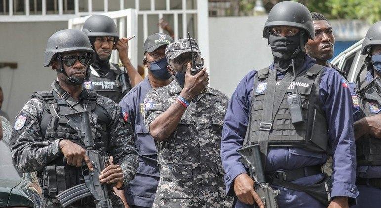 Suspeitos presos estavam refugiados em prédio de Porto Príncipe, diz enviada da ONU