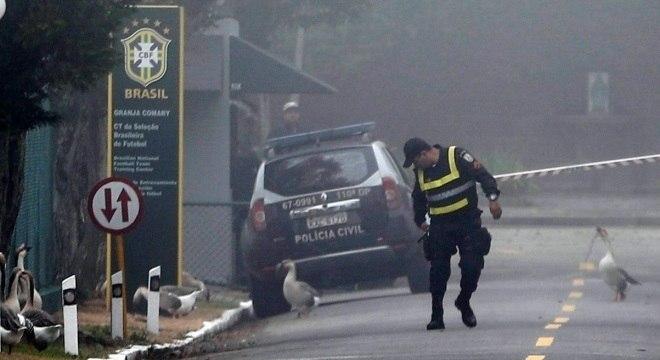 Resultado de imagem para Polícia Civil vai à Granja Comary apurar divulgação de vídeo de Neymar