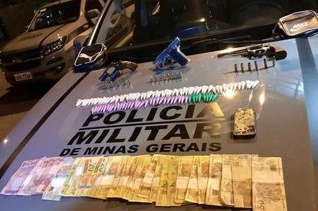 Militares apreenderam R$ 730 em espécie