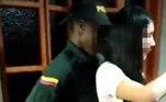 Mais tarde, a polícia dede Antioquia, responsável pelas forças militares deEbéjico, conseguiu identificar os agentes festeiros