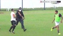 Policial atira para conter briga de jogadores em Mato Grosso do Sul