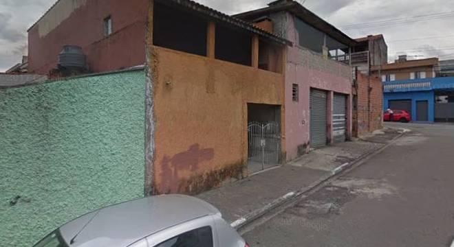 Rua Opixe, na Vila Guarani, zona sul de São Paulo, onde foi a ocorrência