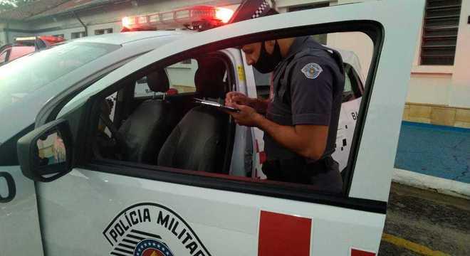 Polícia Militar realizou a abordagem na região central da cidade de São Paulo