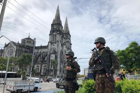 Força Nacional foi acionada para agir no Ceará