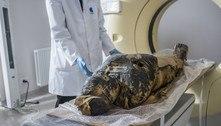 Cientistas anunciam descoberta inédita de múmia egípcia grávida