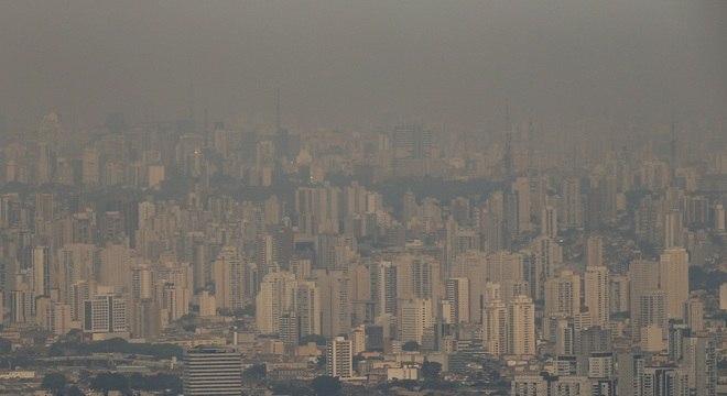 Poluição na cidade de São Paulo no mês de setembro