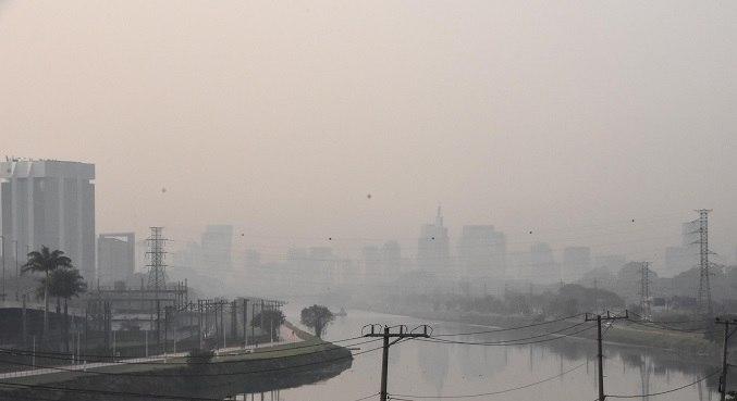 Marginal Tietê – Pte. Dos Remédios é uma das regiões com a qualidade do ar muito ruim