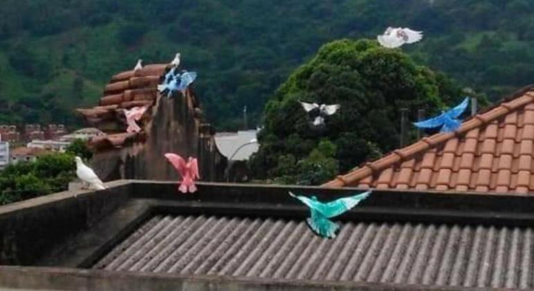 Elas voam juntas, como uma versão alada dos Power Rangers