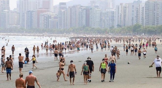 Santos, Guarujá e Cubatão tiveram cinco óbitos registrados nas últimas 24 horas