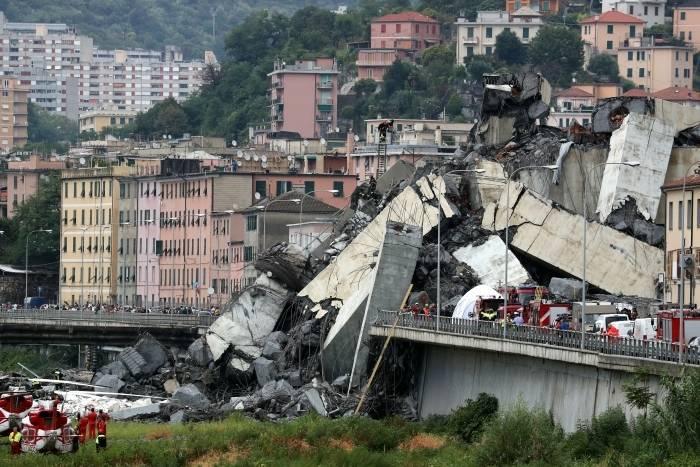 Mortos por desabamento de viaduto na Itália chegam a 30