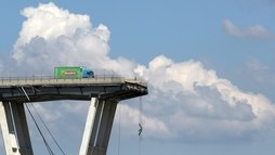 Projetista de ponte que desabou em Gênova alertou sobre riscos há 40 anos ()