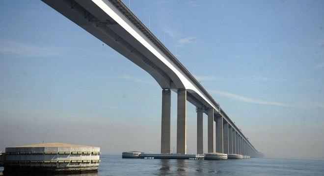 Lançamento ocorreu na manhã de hoje na Ponte Rio-Niterói