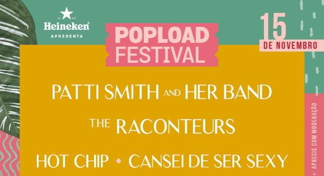Popload Festival: compre um ingresso e ganhe outro com código do TMDQA!