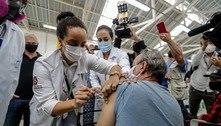 População de rua acima de 60 anos é vacinada contra covid-19 hoje