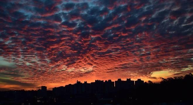 Pôr do Sol: paisagem favorita da fotógrafa Priscila