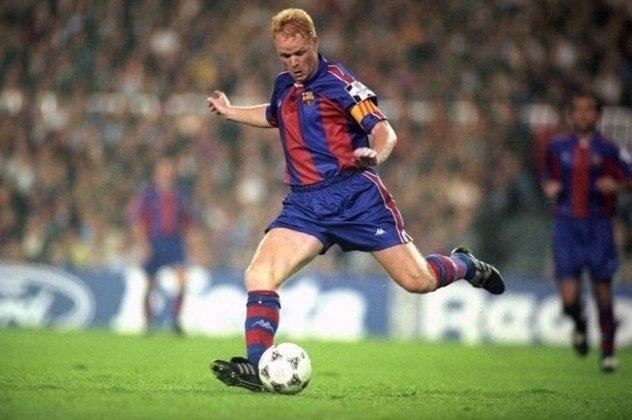 Por lá, durante seis anos de história, acabou com um longo jejum nacional, conquistando logo um tetra consecutivo na La Liga, entre 1991 e 1994, além de títulos da Copa do Rei, Supercopas da Espanha e da UEFA, isso sem falar da primeira Liga dos Campeões da história do clube, em 1991/1992. Foi ele, inclusive, quem fez o gol do título.